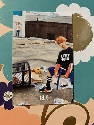 STRAY KIDS 'I AM WHO' OFFICIAL FELIX PHOTOCARD (MAKING Version)