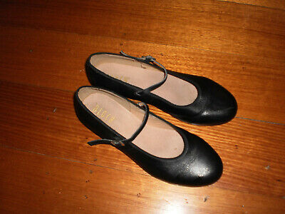 Bloch Women's Tap Shoes Black Leather Size 11 as new