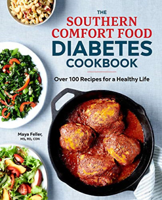 Feller Maya-Southern Comfort Food Diabetes (Importación USA) BOOK NUEVO