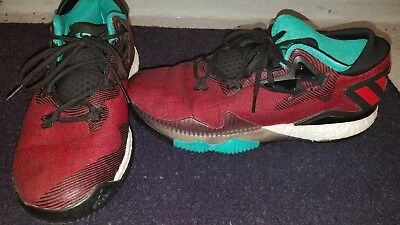 ADIDAS CRAZYLIGHT BOOST James Harden Ghost Pepper Limited