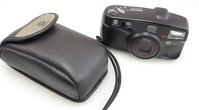 Minolta Riva Zoom 70Ex 35Mm Film Camera New Batteries & Original Case