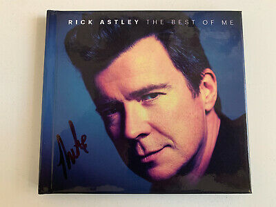Rick Astley - The Best of Me (2019) (Deluxe Edition Double CD)  - Signed - New