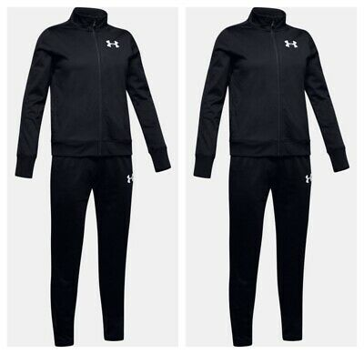 Under Armour Boys Tracksuit Bottoms Knit Kids Tracksuits Training Jacket Trouser