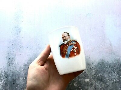 Antique 1902 King Edward VII Coronation Mug