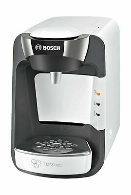 Bosch Tassimo Suny TAS3204GB Coffee Machine, 1300 Watt, 0.8 Litre - White