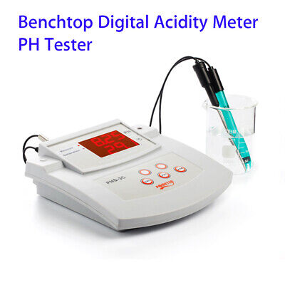 Desktop Thermometer PH Meter Tool Tester Automatic Calibration For Food Making