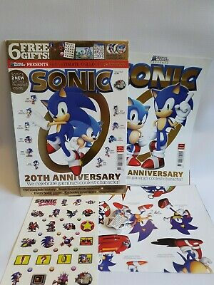 Sonic the Hedgehog - 20th Anniversary Games Master Magazine - Open but complete