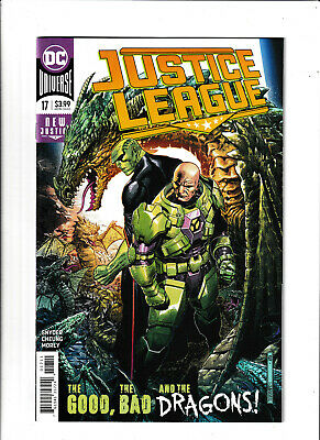 Unread NM; Free Shipping; 12 Actual Pics 2018 Justice League #20A