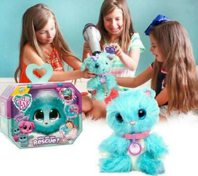 Xmas Little Live Scruff-A-Luvs Rescue Plush Doll Toys Pets Soft Toys Kids Gifts
