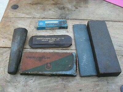 sharpening stones norton, unirundum , assorted sizes engineering carpentry