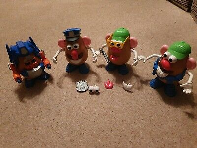 Mr Potato Head Mixed Bundle Accessories Mrs Potato