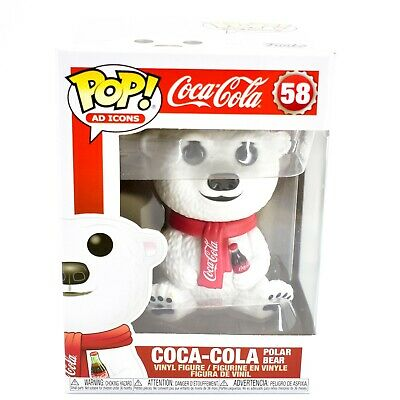 Funko Pop! Ad Icons Coca-Cola Polar Bear #58 Vinyl Action Figure