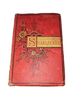 Rare The Complete Works Of William Shakespeare John W.Lovell,Publisher 1881