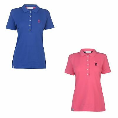 Hurlingham Polo 1875 Essential Lulu Polo Shirt Womens Top T-Shirt Horse Riding