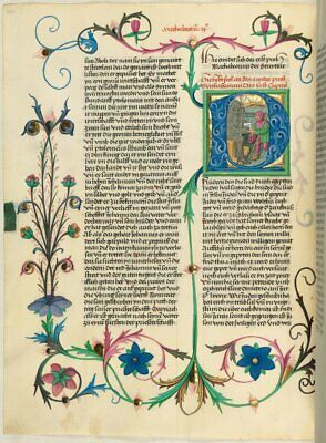Manuscripts - Collection of 8 High Quality Illuminations. NEW