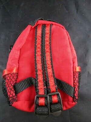 American Girl Accessory- Red Backpack- No Tags- For 18 Inch Doll- Two Zippers