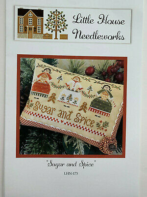 Little House Needleworks - Sugar and Spice -- Cross Stitch CHART/PATTERN ONLY