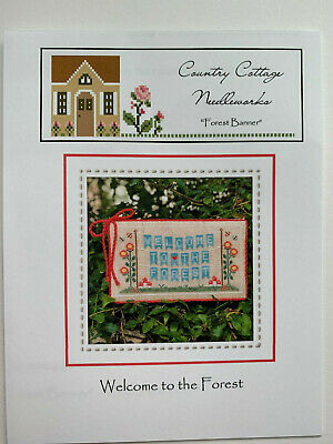 Country Cottage Needleworks - Welcome to the Forest - Cross Stitch PATTERN ONLY