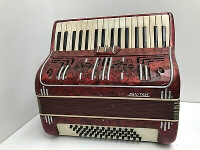 Antique Italian Piano Accordion ~ Maxiton