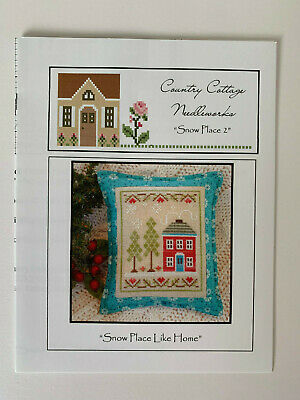 Country Cottage Needleworks - Snow Place Like Home - Cross Stitch Pattern/Chart