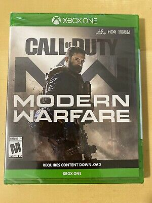 Call Of Duty Modern Warfare XBOX ONE Brand New Sealed 2019