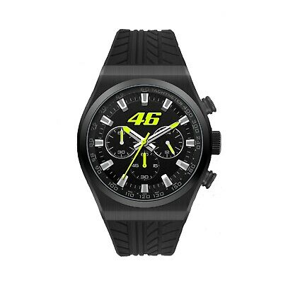 VR46 Chronographe Bracelet-Montre Stopwatch Valentino Rossi The Dottore VR 46