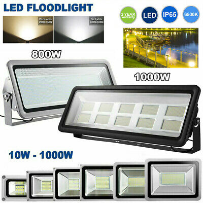 1000W LED Flood Light Spotlight Yard Light Outdoor Security Lamp IP65 Waterproof