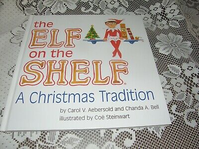 The Elf on the Shelf Christmas Book  - BOOK ONLY - Girl
