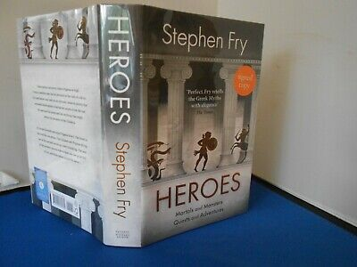 Stephen Fry:  Heroes: New  Signed  Exclusive Limited First  Edition First Print