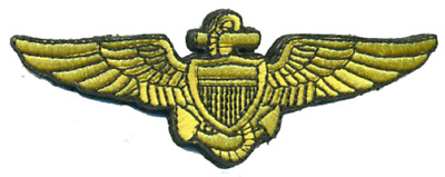 US Navy Naval Aviator Wings Patch NEW!!! 4''