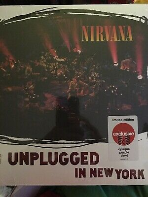 NIRVANA:MTV Unplugged In New York [Live Acoustic] LP [Vinyl NEW] LIM.ED.TARGET