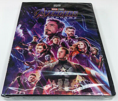 Marvel Studios - Avengers Endgame - Region 1 - New & Sealed DVD