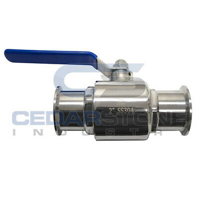 "Stainless Tri-clamp Ball Valve 2"" 304"