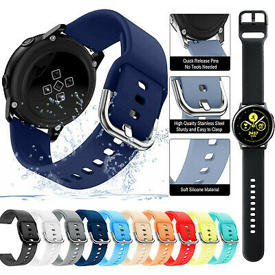 Sport Silicone Replacement Watch Band Strap For Samsung Galaxy Watch Active 2
