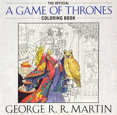 Martin George R. R.-The Official A Game Of Thrones Adult Coloring Boo BOOK NUOVO