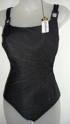NWT Womens Miraclesuit Rialto Eggplant 1PC One Piece Swimsuit 8-24 Retail $157