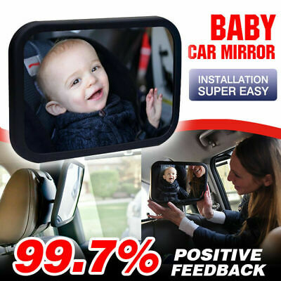 Baby Car Mirror View Infant in Rear Facing Seat Backseat View Child Toddler Kids