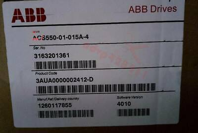 ONE NEW ABB Inverter ACS550-01-015A-4 IN BOX