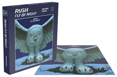 Rush 'Fly By Night' 500 Piece Jigsaw Puzzle + NEW & OFFICIAL!
