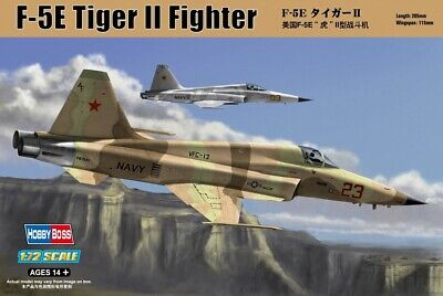 HBB80207 - Hobbyboss 1:72 - F-5e Tiger II fighter - Re-edition