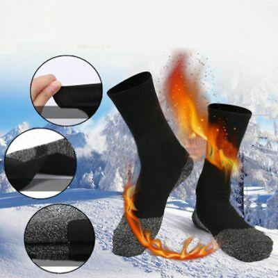 1 Pair 35 Below Winter Aluminized Keep Feet Warm Long Sock Heat Fibers Insulatio