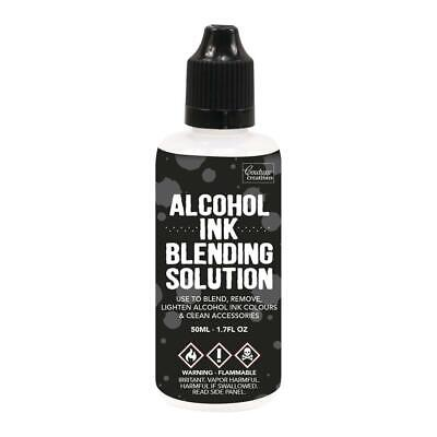 Couture Creations Alcohol Ink Blending Solution 50ml Lighten & Clean Yupo