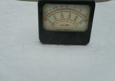 Vintage AC AMPs OHMS Meter by Superior Instrument Company~USA MADE~ Ships Free!