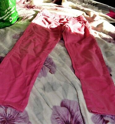 Lovely girls Pink trousers, size 7-8, No longer fits.