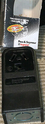 Pass & Seymour 388CC6 3 Pole 3 Wire 30 Amp Surface Mount Dryer Outlet