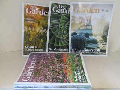The Garden - Royal Horticultural Society 8 Issues Jan-Aug 2019