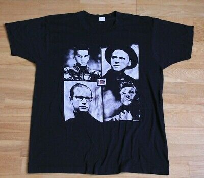 Vintage DEPECHE MODE USA Tour 1988 Concert T-shirt Original Screen Stars Large