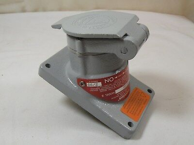 Appleton EFSR-2023M Explosion Proof Pin and Sleeve Receptacle, 20A, 125V, 3P NEW