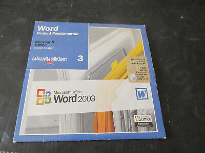 Microsoft Word 2003 Curso Usuario Fundamentos sobre Cd-Rom - Adjunto Gazette