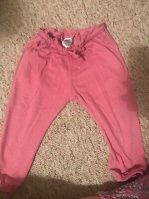 Next girls Pink Trousers 1.5-2 Years